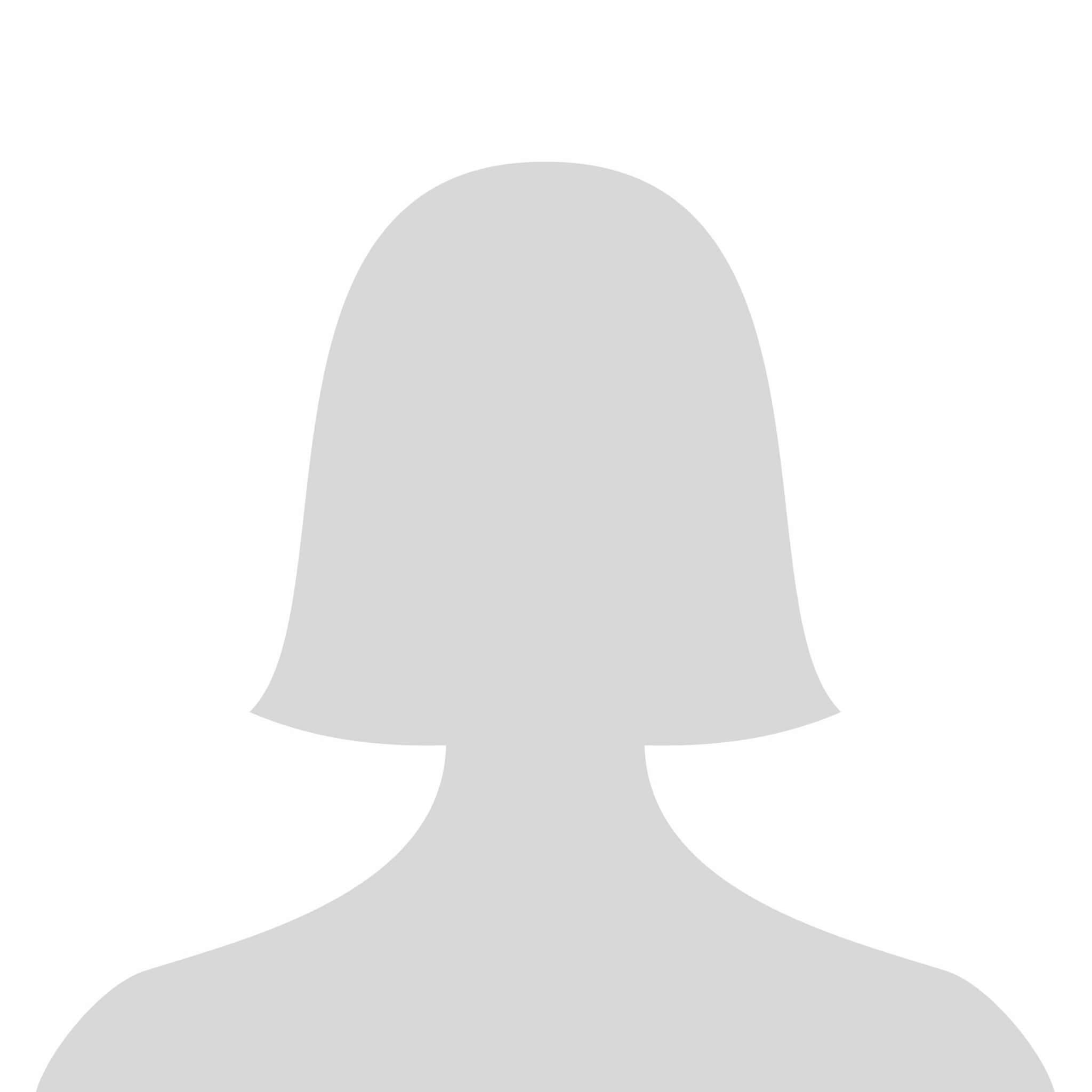 Platzhalter Phantombild weiblich